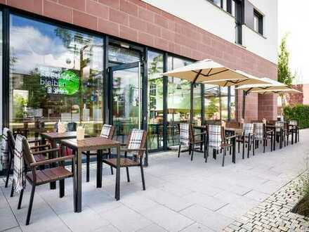 Bistro/ Restaurant/ Café in hervorragender Lage inmitten der Bahnstadt