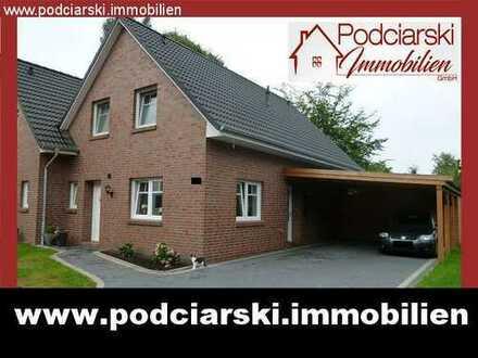 Zwillingshaus mit Neubauflair von 2015 und Doppelcarport in ruhiger, stadtnaher Lage!