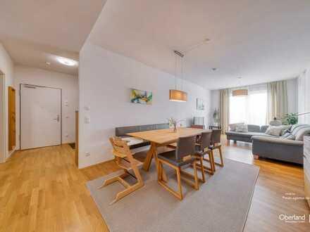Exklusive 4 Zimmer-Wohnung, Raumhöhe 2,74m, Am Oberwiesenfeld direkt am Park