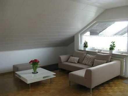 3,5-Zimmer-Dachgeschosswohnung mit Balkon und Einbauküche in Waldbronn-Busenbach