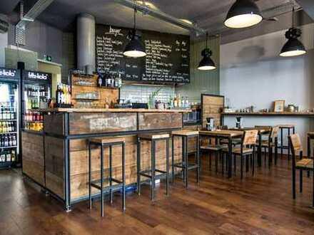 Lukrativer & hipper Burgerladen mit Terrasse in der Münsterstrasse zu verkaufen!