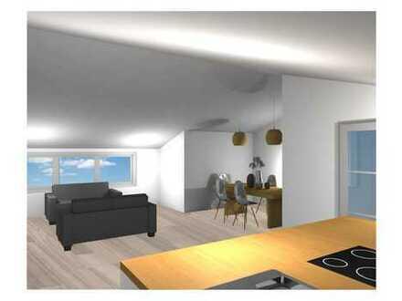 Erstbezug DG Wohnung mit Balkon und Garten DO- Huckarde