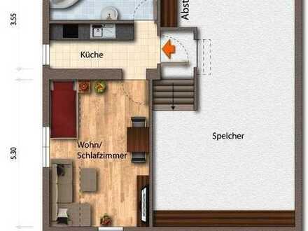 Möbliertes 1-Zi.Appartement zu vermieten