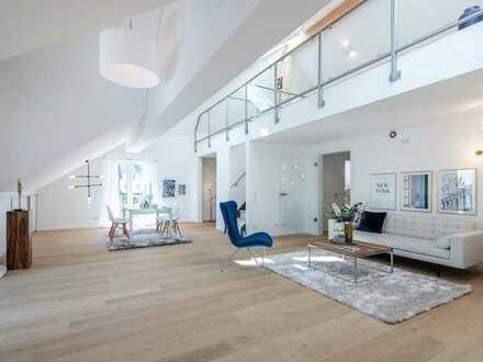 Einzigartige Penthouse-/Maisonettewohnung in toller Lage