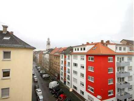 Fairmieten - Zentrale Lage in der Schwetzinger Stadt - Charmante 1-Zimmer-Wohnung mit Loggia