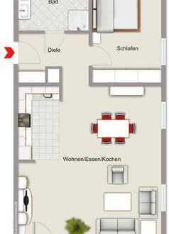 Exklusives Neubauprojekt mit 8 Wohnungen und Stellplätzen im Stadtzentrum von Haltern am See!