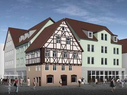 Neubau: 5 Zimmer Wohnung im Zentrum von Aalen mit hohem Steuervorteil aus Denkmal Afa