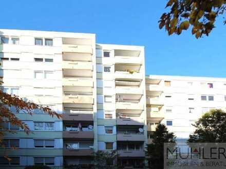 Helle 2-ZKB-Wohnung mit Balkon und toller Aussicht