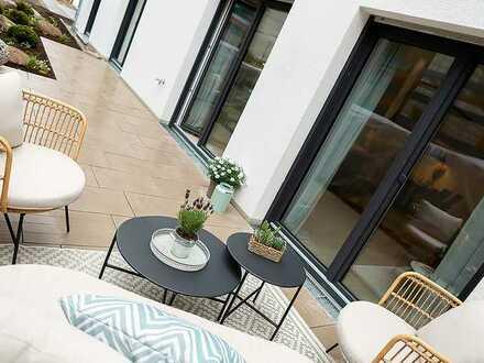 Super geschnittene 4 Zi Süd-Garten-Wohnung: Rückzugsort für die ganze Familie