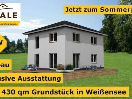 JAHRESENDAKTION - Freistehende Stadtvilla auf 430 qm Grundstück in Weißensee