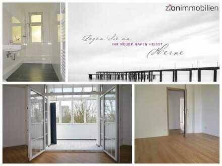 Großzügige modernisierte Wohnung mit Wintergarten und neuem Badezimmer...