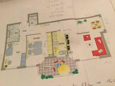 Schöne 3,5-Zimmer-Wohnung mit Balkon und EBK in Bietigheim-Bissingen