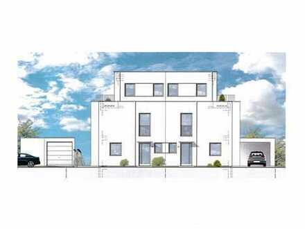 Provisionsfrei! KfW-Effizienzhaus 70, Neubau einer hochwertig gebauten Doppelhaushälfte mit Keller