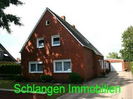 Objekt Nr. 19/832 Einfamilienhaus mit Garage in begehrter Wohnlage im Saterland / OT Scharrel