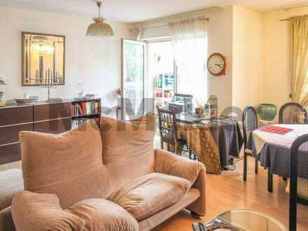 Gut geschnittene 2-Zimmer-Wohnung mit schöner Loggia unweit des Mains