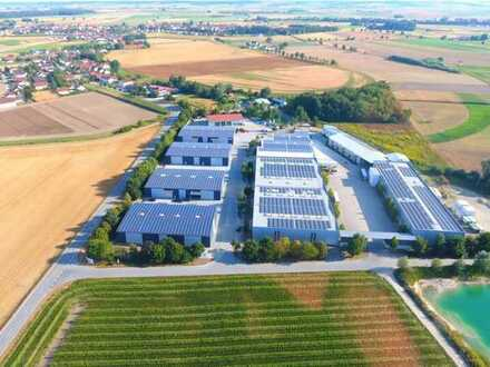 Lager- und Produktionshallen in Aholming, Landkreis Deggendorf. A92 und A3 und B8