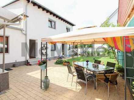 Vielseitiges & neuwertiges ZFH mit Sauna, Werkstatt, (Dach-)Terrasse und Ausbaupotenzial zu 4-FH!
