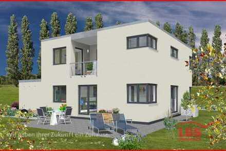 Speicher: Modernes Einfamilienhaus im KfW55-Standard