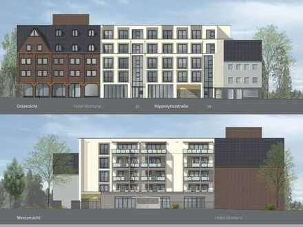 Neubau eines Wohn- und Geschäftshauses mit Tiefgarage