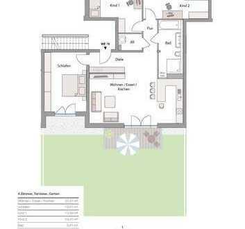 Neubau in Göggingen! - exkl. 4 Zi-Terrassen-Whg. mit Garten in Südlage! Zentrums nah!