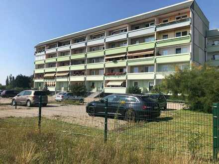 Kapitalanlage - 2-Raum-Wohnung mit Balkon und Stellplatz