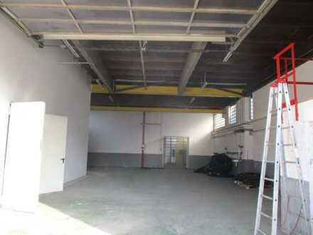 Vermietung einer Lager-/Gewerbehalle mit Büroräumen