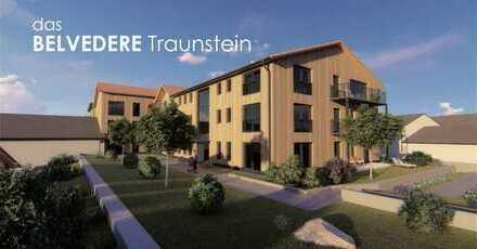 Stilvolle 3-Zimmer-Neubau-Wohnung mit Süd - Balkon in Traunstein