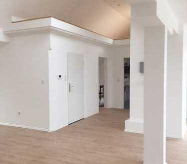 Galeriewohnung mit Stil
