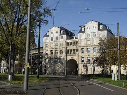 Exklusiv und großzügig Wohnen in einem der schönsten Häuser der Stadt 3 Zimmer-Maisonettewohnung