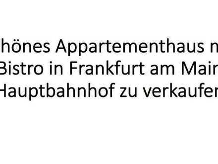 Attraktives MFH zum Kauf im Bahnhofsviertel, Frankfurt am Main