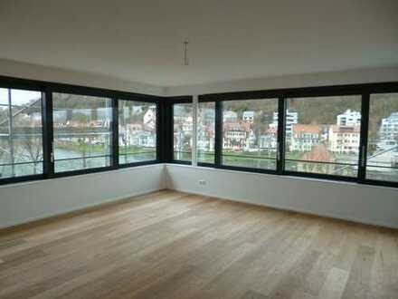 Exklusive 4,5-Zimmer Penthouse-Luxuswohnung direkt am Neckarufer, ERSTBEZUG, Bj. 2017, Tübingen-City