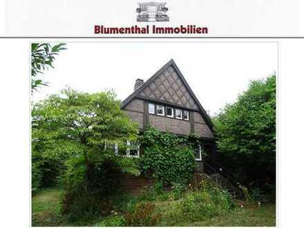 Denkmalschutzobjekt !!! Freistehendes Einfamilienhaus mit Baugrundstück in 2. Reihe im Dykgebiet !