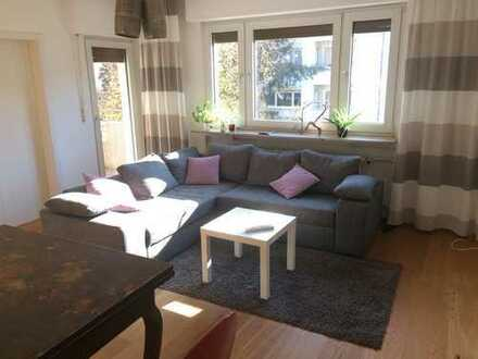 3 room furnished apartment with balcony - All cost included
