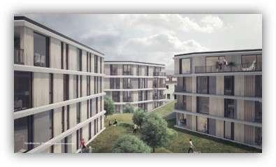 Wohnen im Fürstenau Carrée - B6
