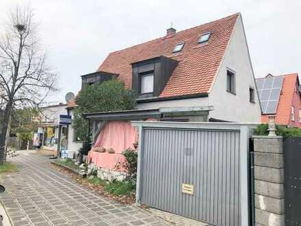 Einfamilienhaus mit kl. Gewerbeanteil in Nürnberg (Teilsanierung)