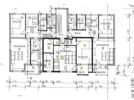 Sonnige 2-Zimmer-Wohnung mit überdachtem Balkon, 72663 Großbettlingen