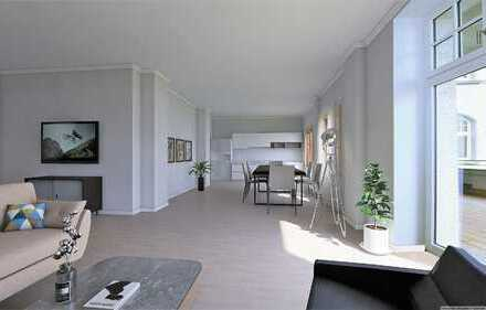 ++ Vier-Zimmer-Wohnung mit Gartenanteil ++