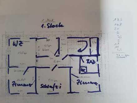 Erstbezug nach Sanierung: Sehr schöne 4-Zimmer-Wohnung zur Miete in Wilgartswiesen