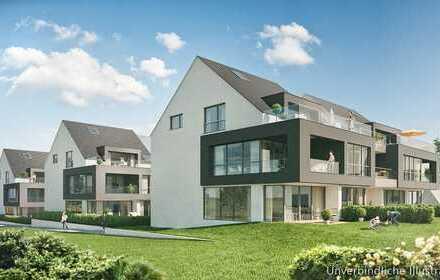3-Zimmer-Neubau-Wohnung nahe dem Darmsheimer Aibachgrund