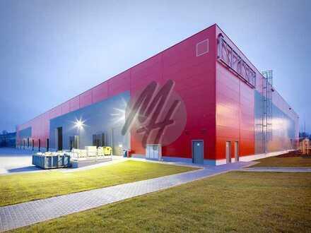 PROVISIONSFREI ✓ LOGISTIK-NEUBAU ✓ 20.000 m² / teilbar ✓ viele Rampen ✓ 12 m Höhe ✓
