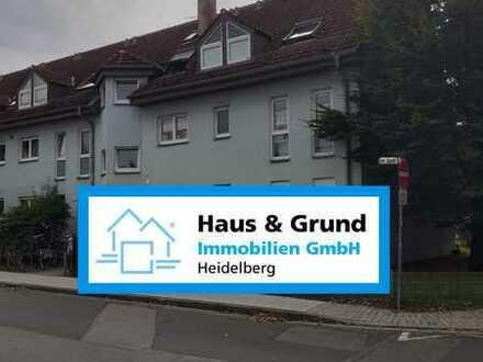Haus & Grund Immobilien GmbH - 2 ZKB mit Balkon im Hochparterre mit Garagenplatz in HD- Weststadt