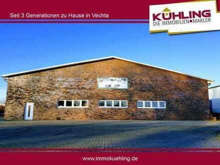 Der Standort für Ihre Zukunft! - Großzügige Halle/Lagerfläche in Vechta-Nord -