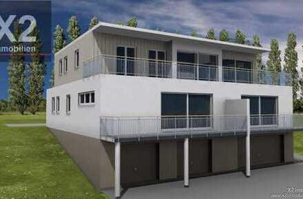 Komfortable Penthouse-Neubauwohnung in einem Drei-Familienhaus mit excl. KfW 40 plus Energiestandard