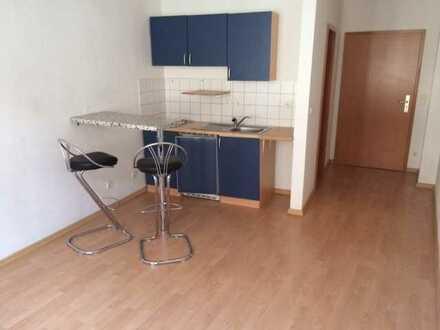 Provisionsfreie 1-Raumwohnung im Stadtzentrum mit Einbauküche zu vermieten !!!!