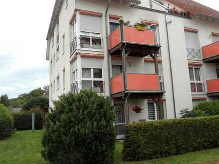 2,0-Zimmerwohnung mit Balkon und Gartennutzung!