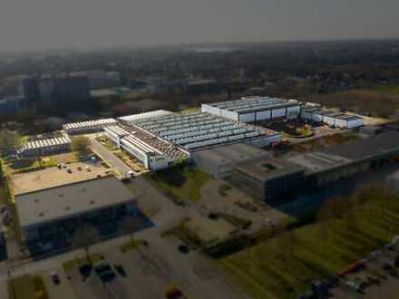 Hallenflächen + Büroflächen(optional) im Gewerbepark Rhein-Lippe in Wesel ( Siemensgelände)