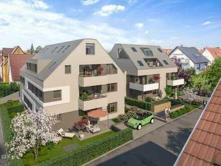 *NEUBAU - Schöne 2-Zimmer-Gartenwohnung mit 2 Terrassen*