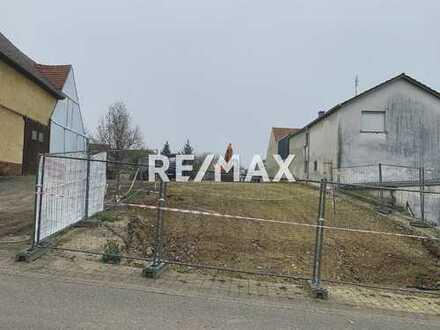RE/MAX - Projektiertes Grundstück in Bruchsal Helmsheim. Baugenehmigung ist bereits erteilt!