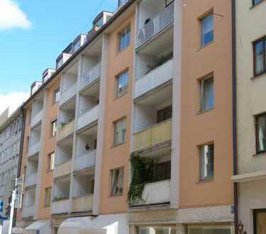 3 Zimmer-Wohnung mit Balkon in der Altstadt