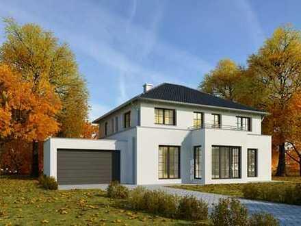 NEUBAU: Massive Architekten Villa in Top Lage, hochwertiger Ausstattung und Smart Home, frei planbar
